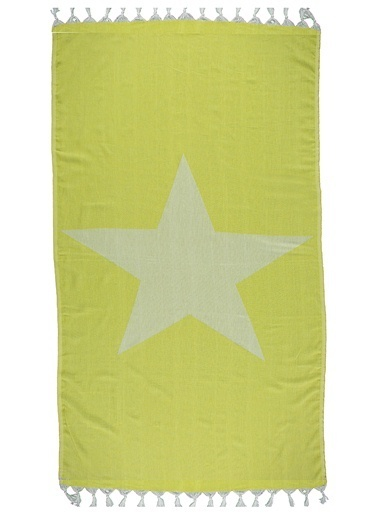 Sade'ce Be The Star Peştemal Sarı